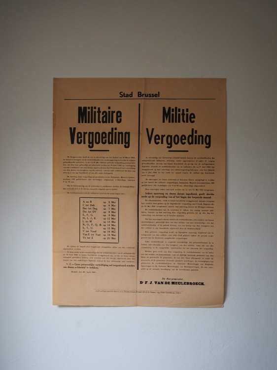 POSTER Militaire