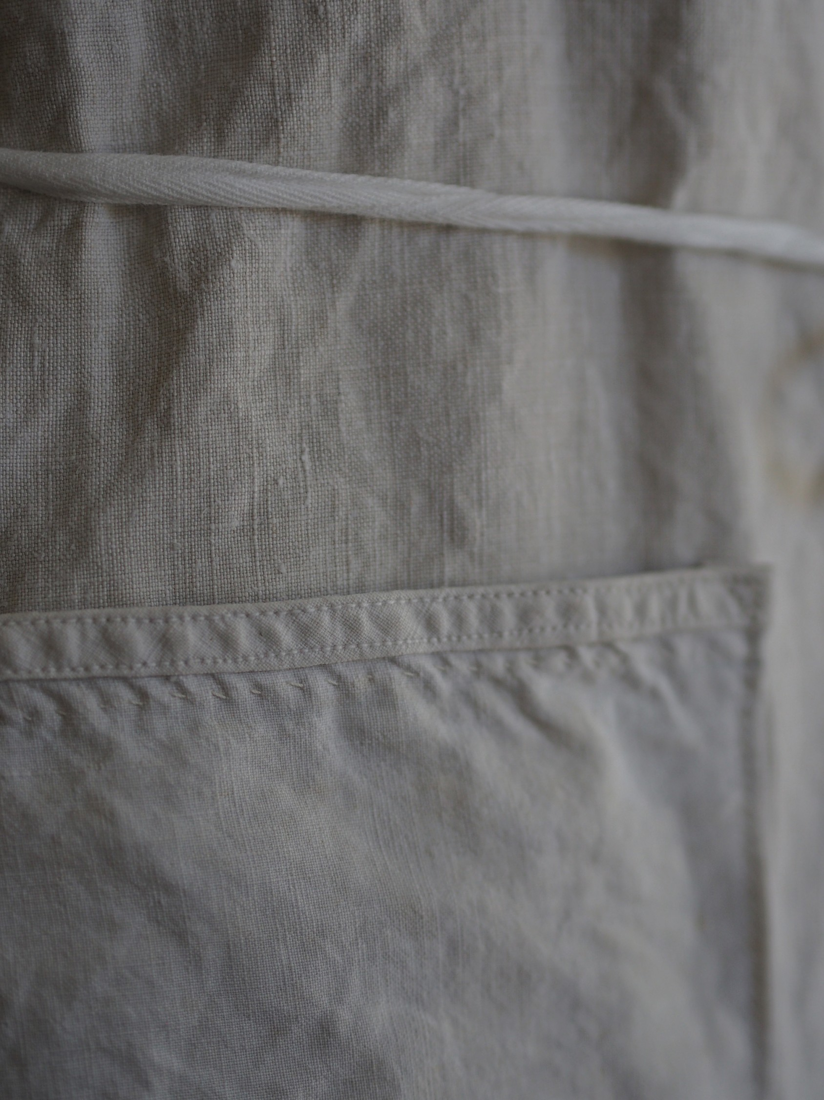 FIVE x UTO  gray apron no.1