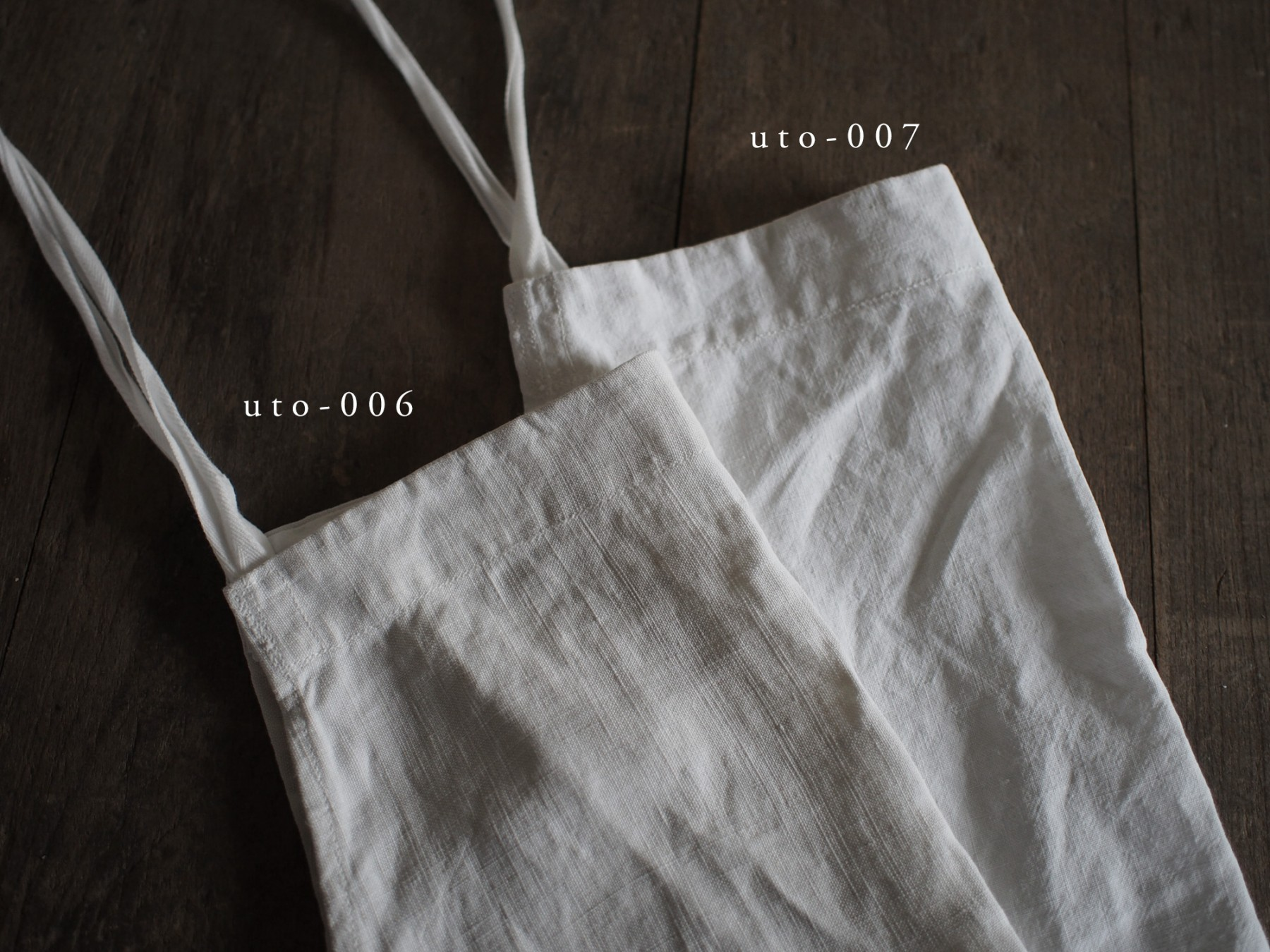 FIVE x UTO WH apron no.1