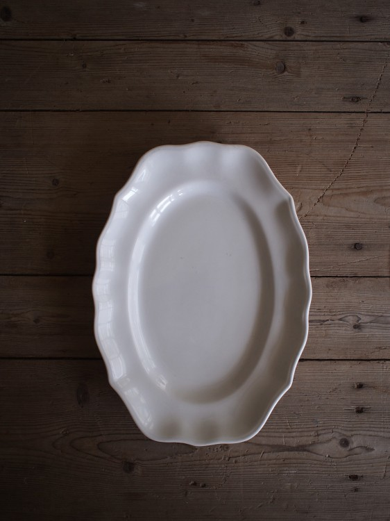 St.Clemant Oval plate